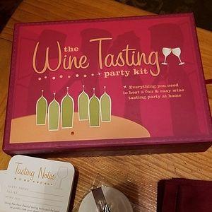 NEW Wine Tasting Party Kit